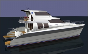 lidgard yacht design power catamaran