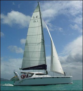 sailing catamaran design by lidgard yacht design multihull