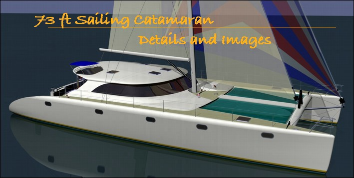 73 ft sailing catamaran by Lidgard yacht design