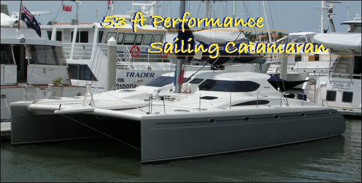 53 ft catamaran multihull by Lidgard Yacht Design Australia and New Zealand