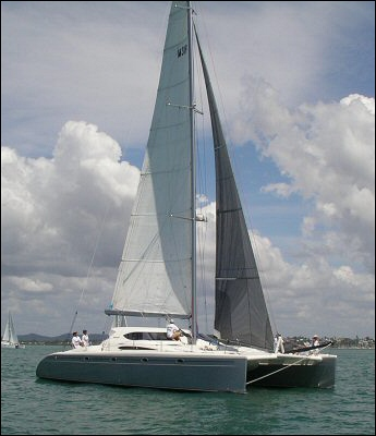 53 ft multihull sailing catamaran by lidgard yacht design